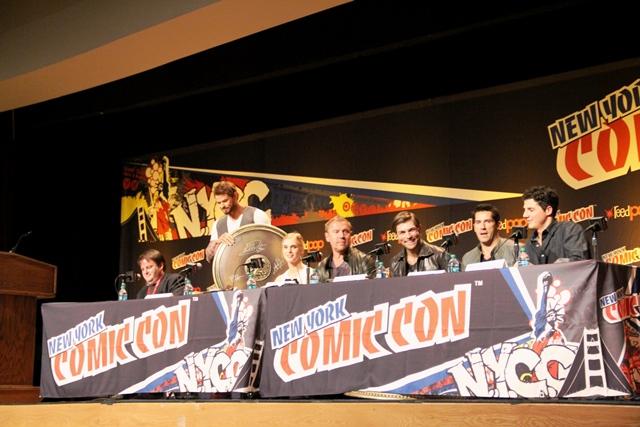 Hercules panel at NYCC 2013!