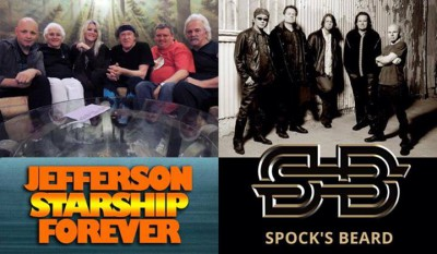 Click to purchase tickets for Jefferson Starship and Spocks Beard at Evolution Expo!