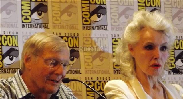Adam Ward & Julie Newmar-SDCC 2014