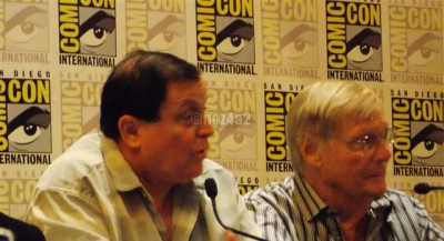 Burt & Adam-Robin & Batman SDCC 2014