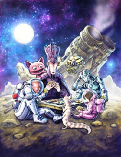 Origins Cover Art by Jeff Carlisle