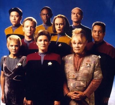 Star Trek Voyager Cast Photo IMDb