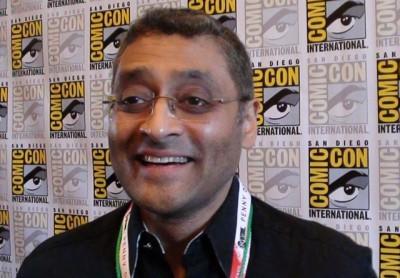 SDCC 2015 Naren Shankar in The Expanse Syfy Press Room