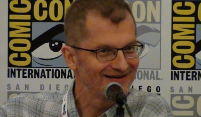 SDCC 2015 Reinhold Heil at CW3PR Syfy Chills and Thrills panel