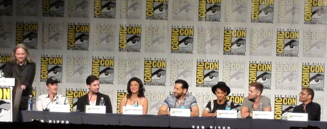 SDCC 2015 The Expanse panel