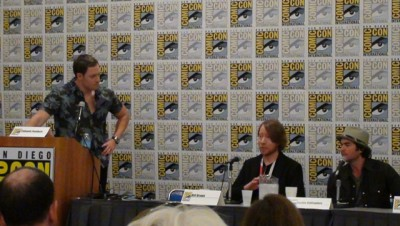 SDCC 2015 Bill Brown at CW3PR Syfy Chills and Thrill panel