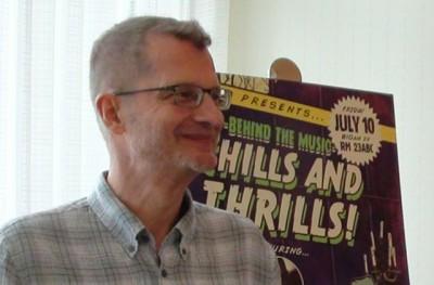 SDCC 2015 Reinhold Heil at the CW3PR Press Room