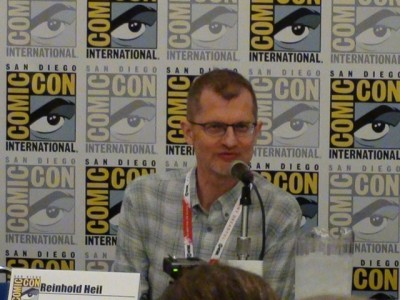 SDCC 2015 Reinhold Heil at the CW3PR Syfy Thrills and Chills panel