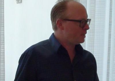 SDCC 2015 Shawn Pierce at CW3PR Press Room