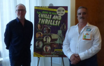 SDCC 2015 Shawn Pierce at the Syfy Chills and Thrills CW3PR Press Room