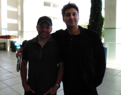 SDCC 2015 Travis Fickett and Terry Matalas of 12 Monkeys