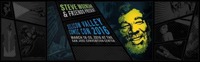 Silicon Valley ComicCon poster banner - click to learn more at their official web site
