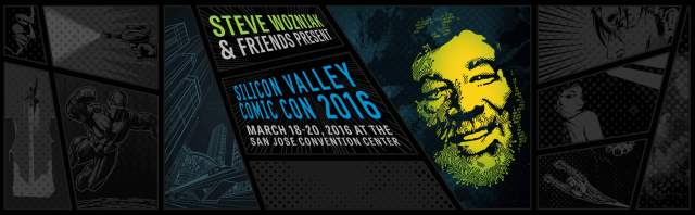 Silicon Valley Comic-Con poster banner - click to learn more at their official web site