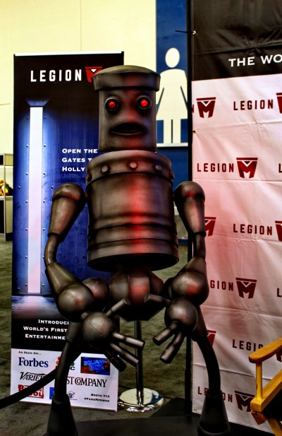 SVCC 2016 The Legion M interview robot