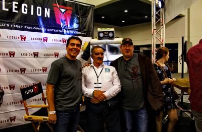 SVCC 2016 The Legion M interview (l-r) Paul, Kenn and Jeff