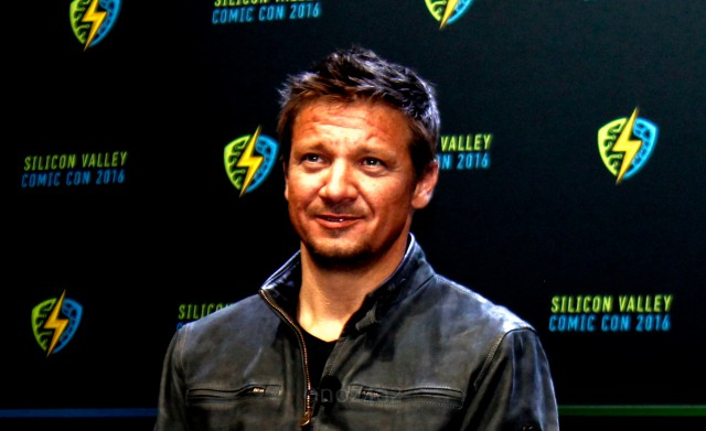 SVCC 2016 - Jeremy Renner at Silicon Valley Comic-Con 2016