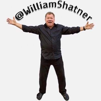 Click to visit and follow William Shatner on Twitter!