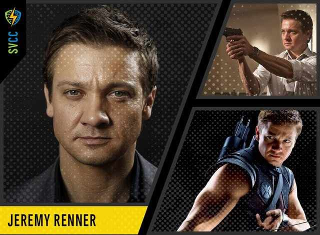 Click to learn about Jeremy Renner's appearance at SVCC!
