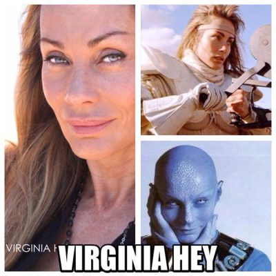 Click to visit and follow Virginia Hey on Twitter!