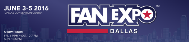 Click to visit and follow Fan Expo Dallas Comic Con 2016 on Twitter!