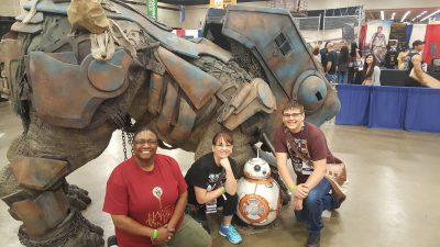 Fan Expo Dallas Comic Con Ohana and Jenah