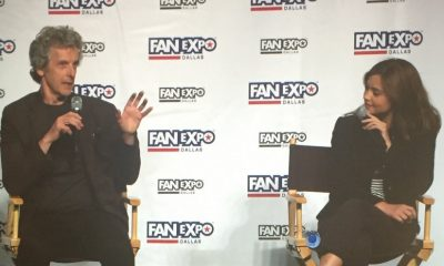 Fan Expo Dallas Comic Con - Peter Capaldi and Jenna Coleman of Doctor Who!