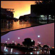 Sunset on SCCC Day 1