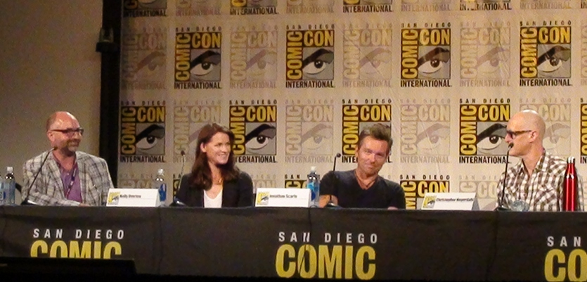 Van Helsing Arrives at SDCC via Dynamic Television Vampire Wormhole on Earth!