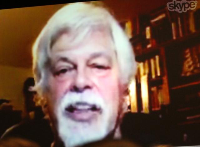 Gatecon 2016 - Sea Shepherd's Captain Paul Watson via Skype