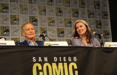 Lee Majors & Lucy Lawless