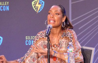 SVCC 2017 Gina Torres shares details about her career