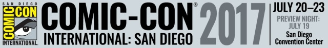 SDCC 2017 Banner - Click to visit the official Comic-Con International web site!