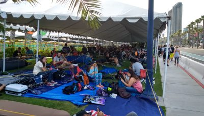 SDCC 2017 Hall H Line began before Preview Night