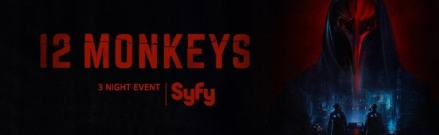 12 Monkeys S3 Banner Poster 2017 - Click to follow 12 Monkeys on Twitter!
