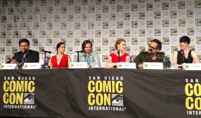 SDCC 2017 12 Monkeys panel guests