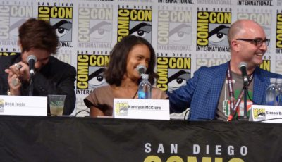 SDCC 2017 Ghost Wars Avan Jogia, Kandyse McClure and Simon Davis Barry