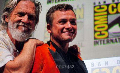 Jeff Bridges & Taron Egerton-SDCC 2017
