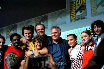 Cast of Stranger Things-SDCC 2017