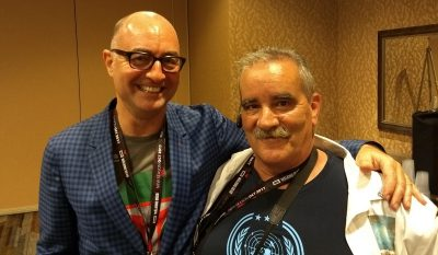 SDCC 2017 Ghost Wars Press Room Simon Davis Barry and Kenn