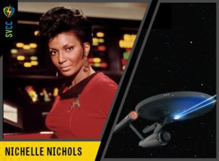 SVCC legendary guest Nichelle Nichols - Click to learn about all the celebrities at SVCC 2018!