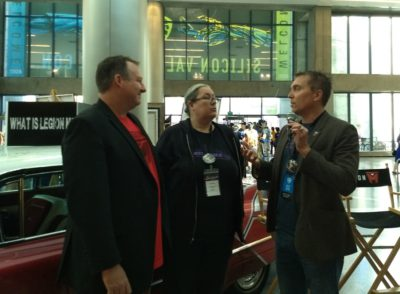 SVCC 2018 Lori interviews Legion M founders Paul Scanlan and Jeff Annison