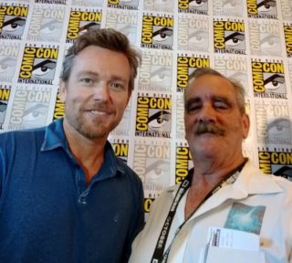 SDCC 2018 Jonathan Scarfe and Kenn Van Helsing Press