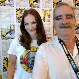 SDCC 2018 Kelly Overton and Kenn Van Helsing Press