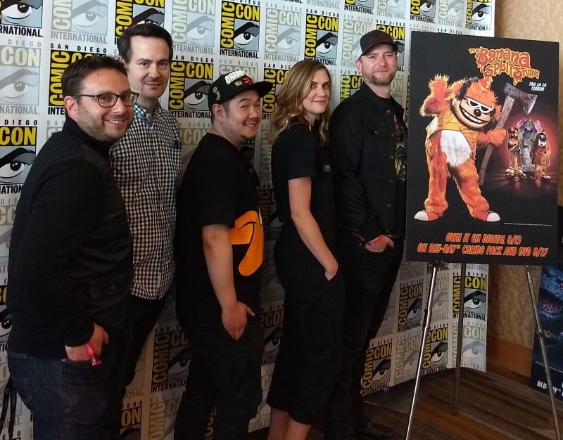 SDCC 2019 The Banana Splits Movie cast and creators
