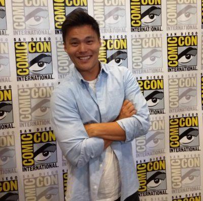 SDCC2019 John Harlan Kim as Greg Li in Pandora