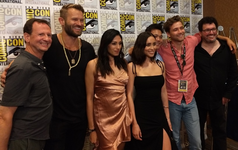 SDCC2019 Pandora Creators and Cast