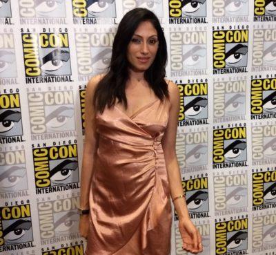 SDCC2019 Tehmina Sunny stars as Regan in Pandora