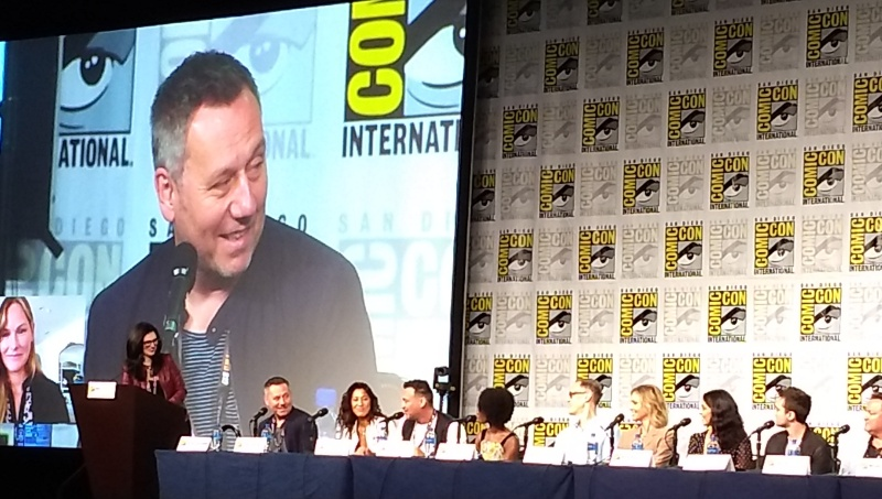 SDCC2019 Van Helsing Panel Jonathan Walker on Screen