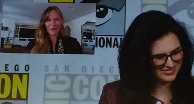 SDCC2019 Van Helsing Panel Kelly on Screen