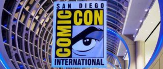 San Diego Comic Con Logo banner